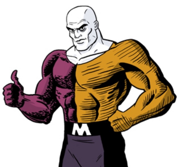 Metamorpho says 'Thumbs up!'